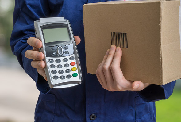 contactless courier in Nottinghamshire, delivery service and advanced booked deliveries